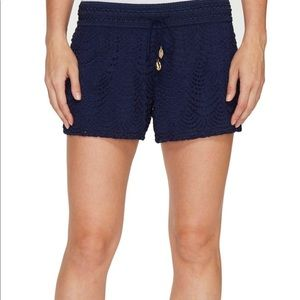 Lilly Pulitzer lace shorts